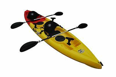 BKC UH-TK181 Sit On 2 Person Kayak with Paddle