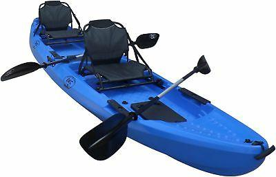BKC Tandem Person On Top Fishing Kayak with