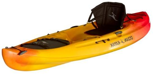Ocean Kayak Caper Classic One-Person Sit-On-Top Sunrise, Feet