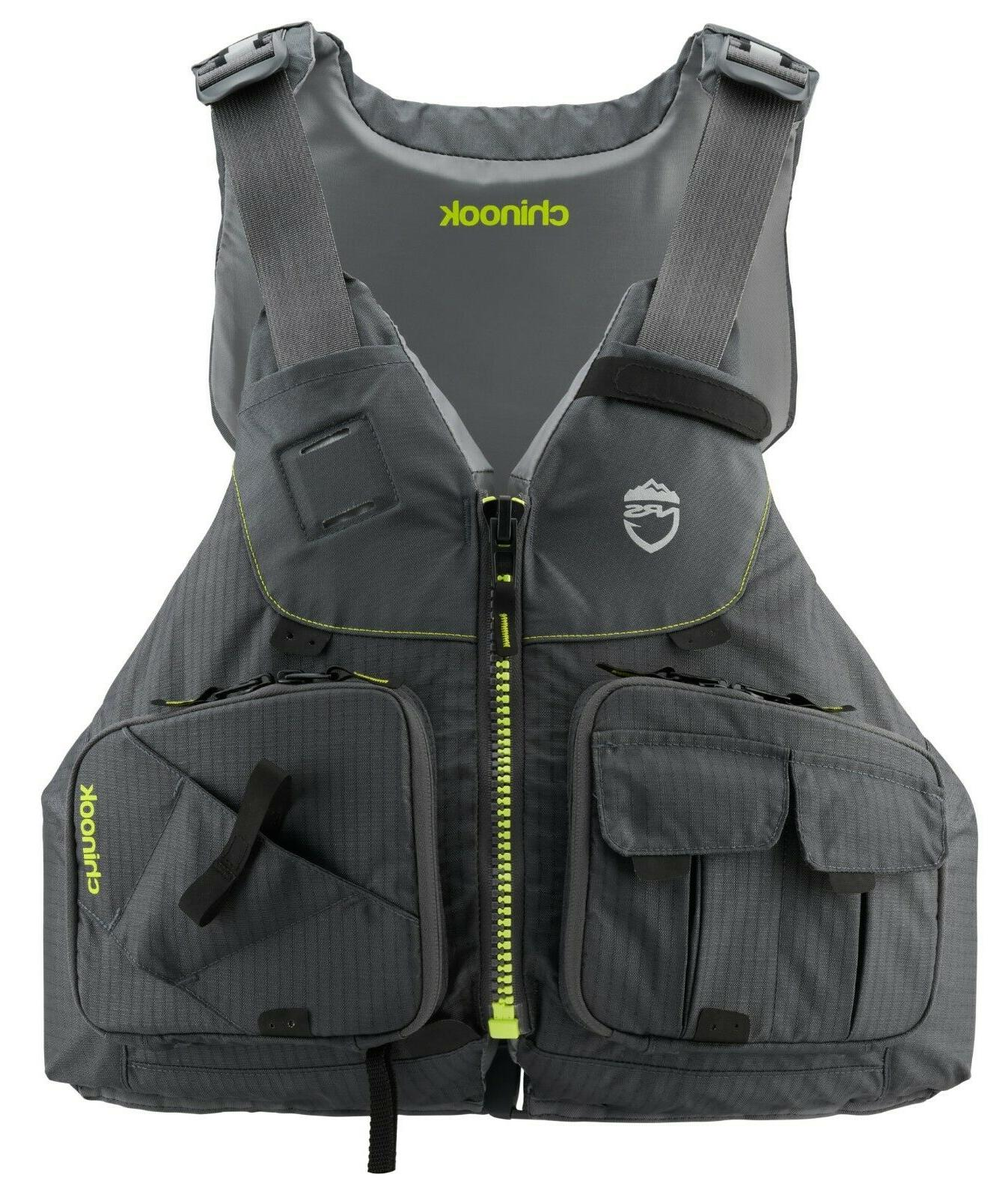 chinook fishing pfd 2020 life jacket kayak