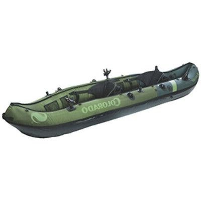 new colorado inflatable fishing kayak 2 person