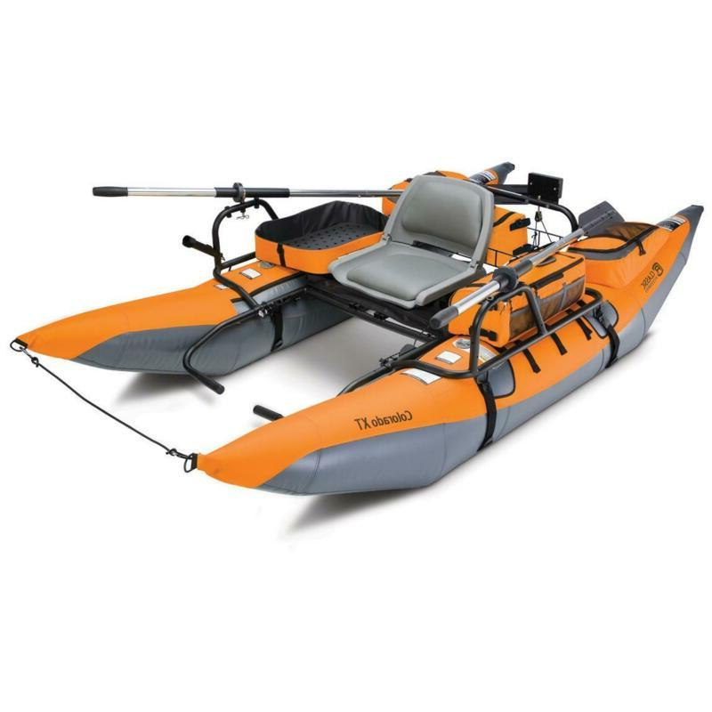 Classic Accessories Inflatable Pontoon Boat