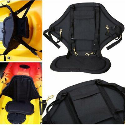 Deluxe Padded Comfort Kayak Seat Fishing Boat Back Rest Supp