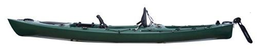 Riot Escape Angler Sit-On-Top Flatwater Kayak, Forest, 12-Feet