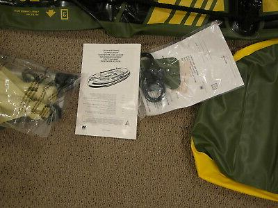 Sevylor Inflatable Boat Raft - Never Used - Oars