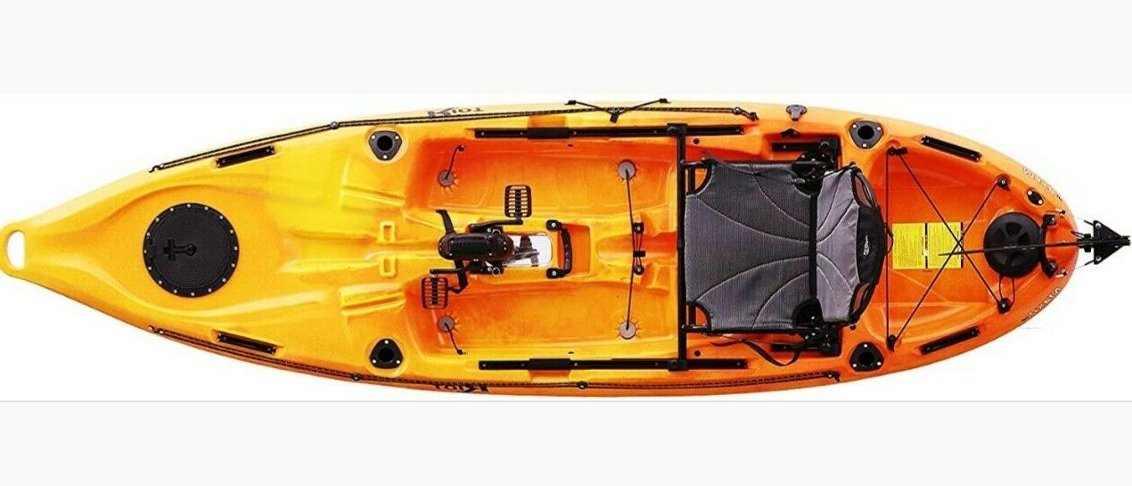 Fishing Drive Kayak Propeller Driven Deluxe