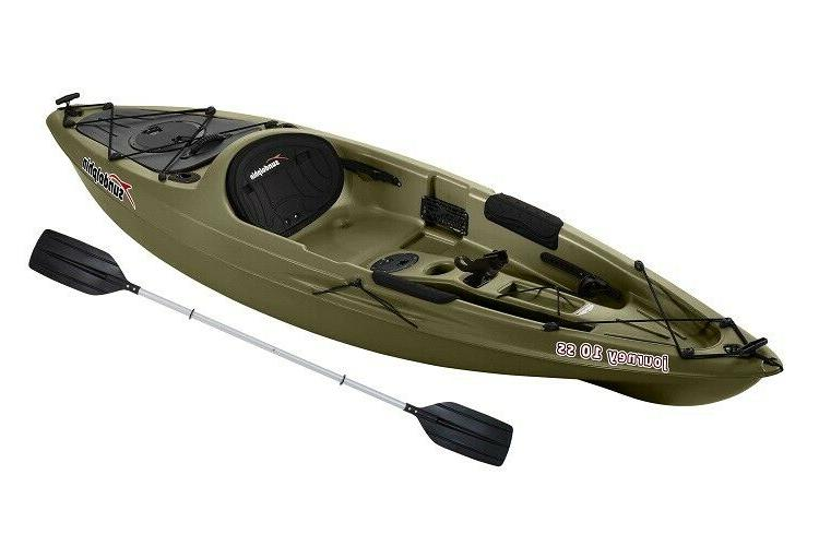 fishing kayak sport fisher angler paddle included