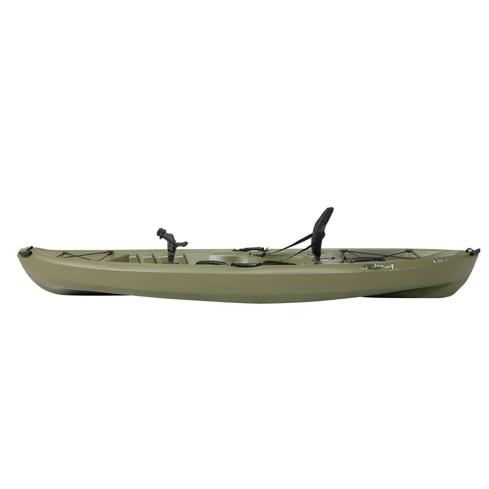 Olive Green Kayak Paddle Stable