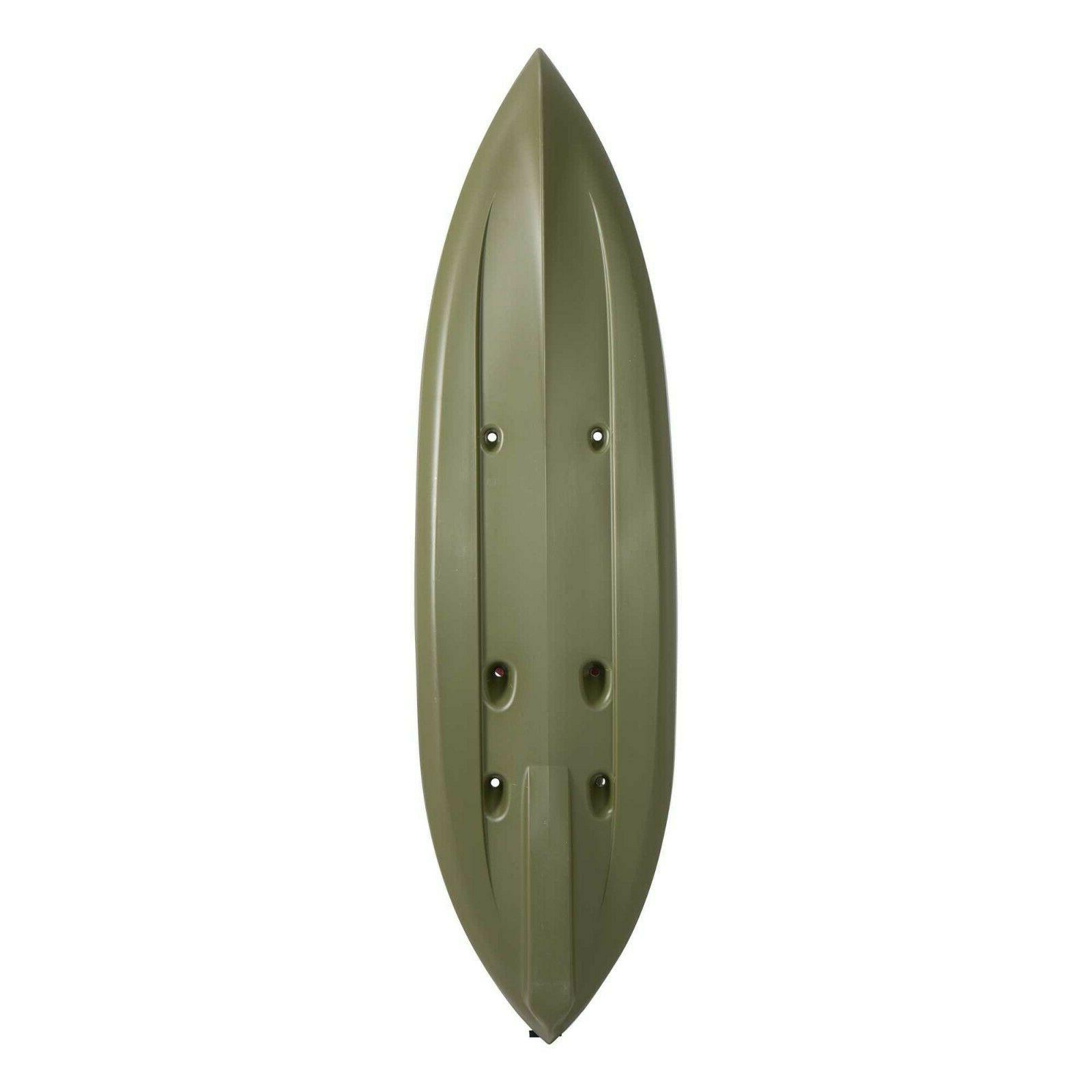 Olive Green Paddle Included Stable Bottom