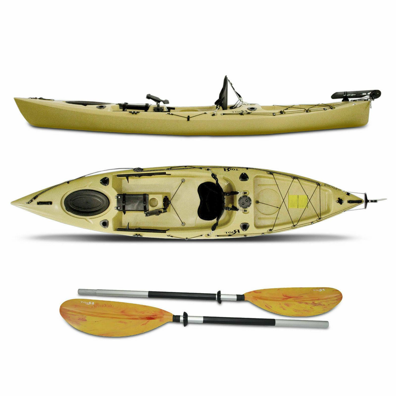 fishing kayaks escape angler sit on top