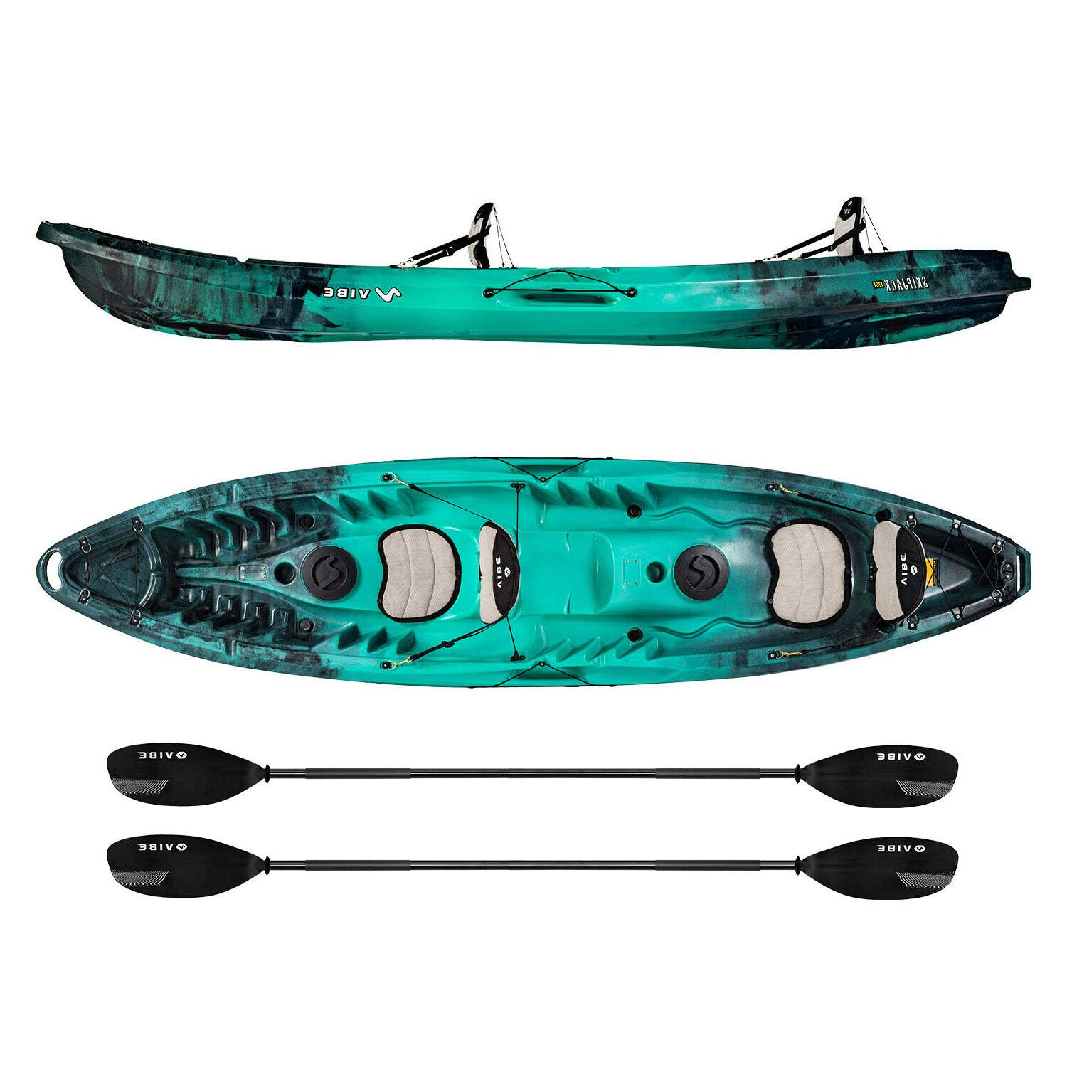 Vibe 120T Tandem Kayak w Built-in 2 Paddles