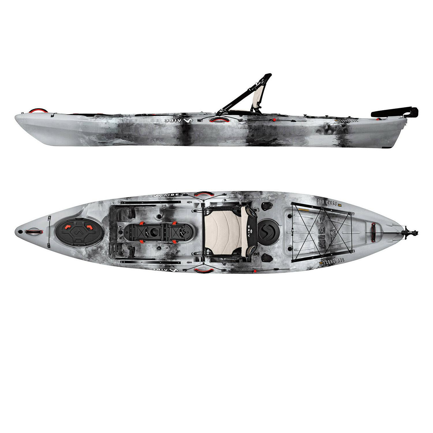 Vibe Sea Ghost 13' | Rudder + Premium