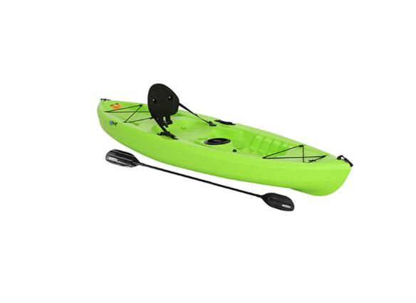 2017 Perception Pescador Pro 12.0 Fishing Kayak - Red Tiger