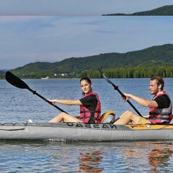 2 Person Inflatable Z-Ray Fishing Rafting