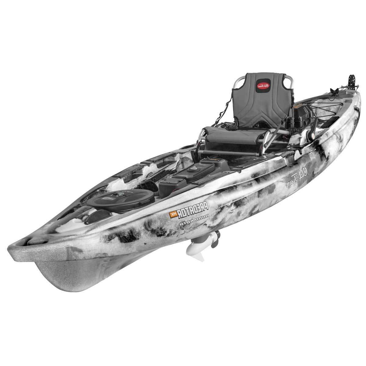 Old MK Fishing Kayak Black Hall Outfitters