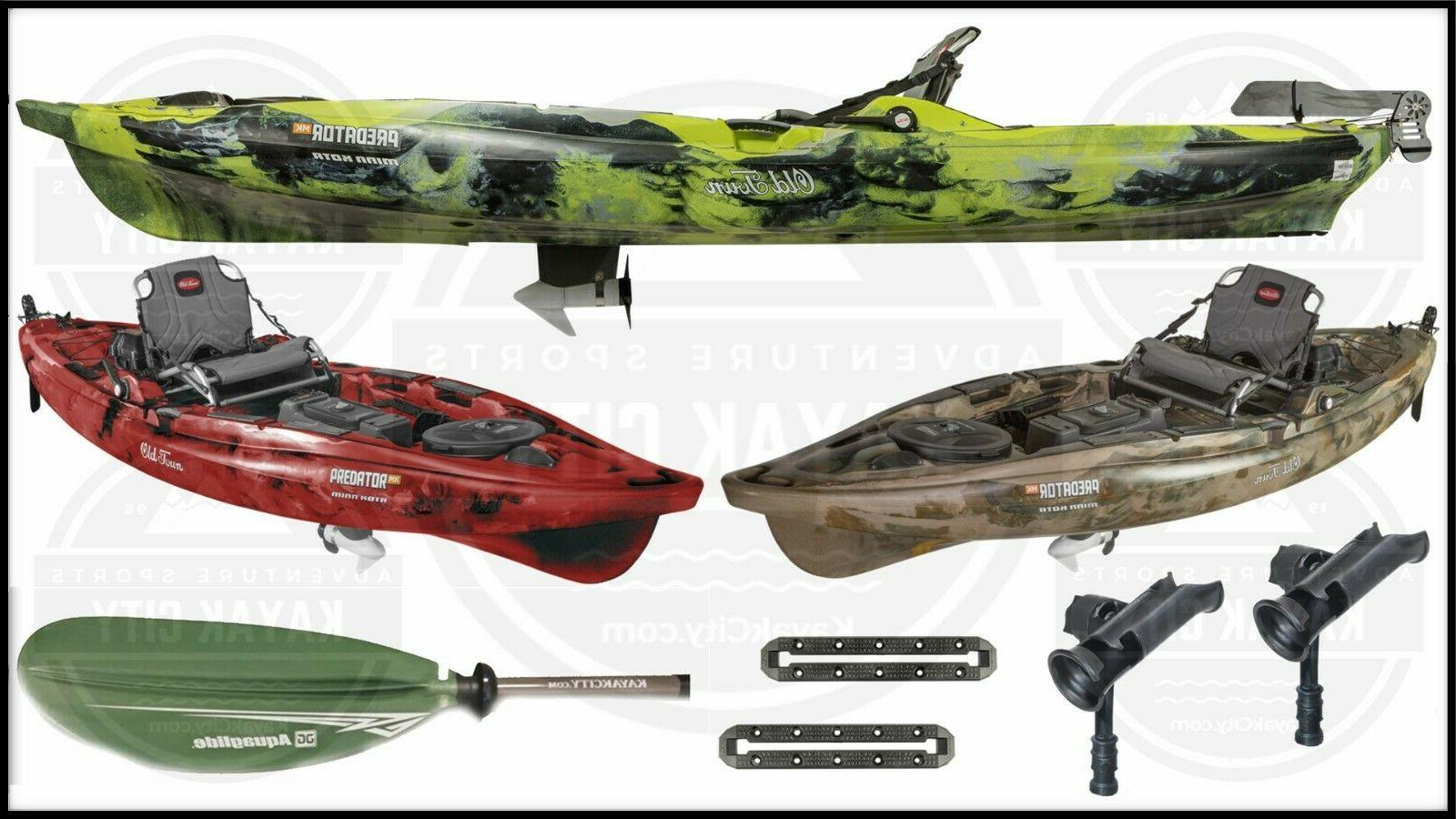 predator mk motorized kayak fishing package multiple