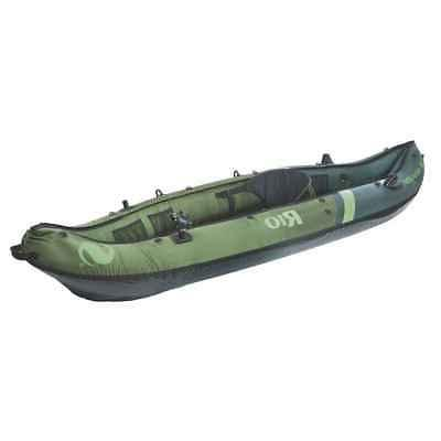 rio 1 person inflatable fishing canoe 2000014134