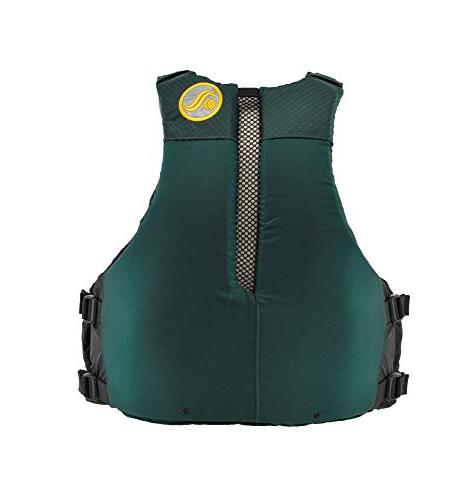 Astral Ronny Jacket PFD for and Touring Kayaking, Green,