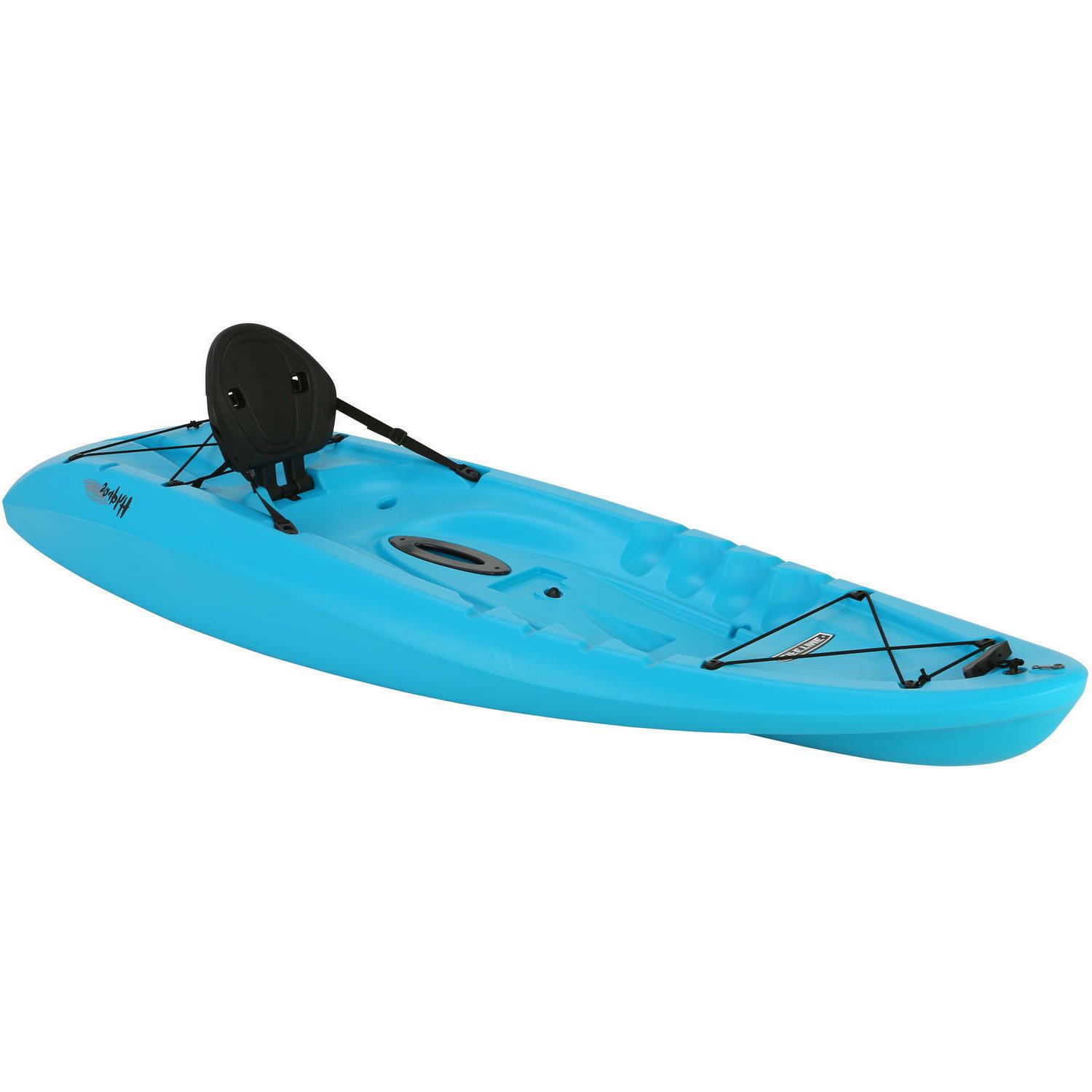 Sit Kayak with Water Sport Blue Fishing Boat Sea Sail