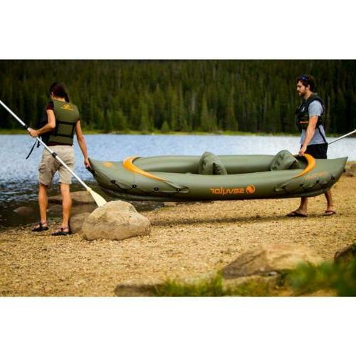 Sevylor Kayak, One Olive