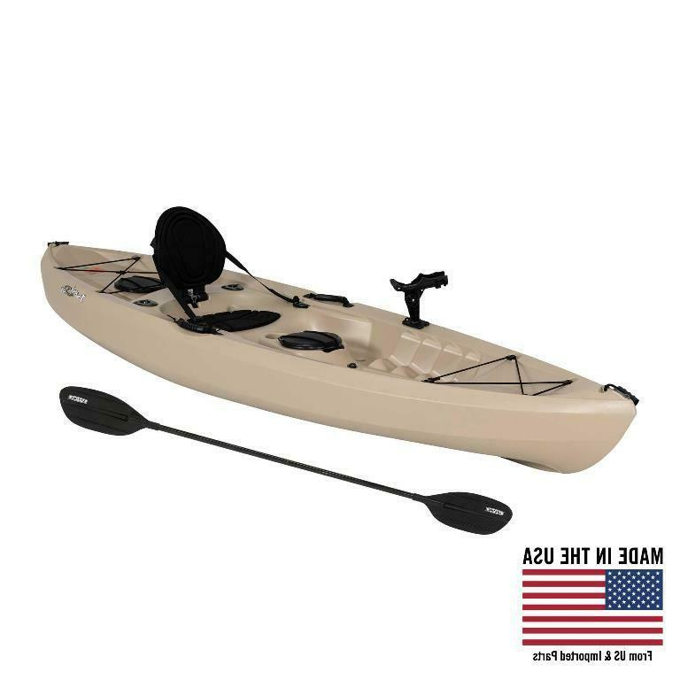 Lifetime Tamarack Angler 100 Fishing Kayak Tan , 90818 New