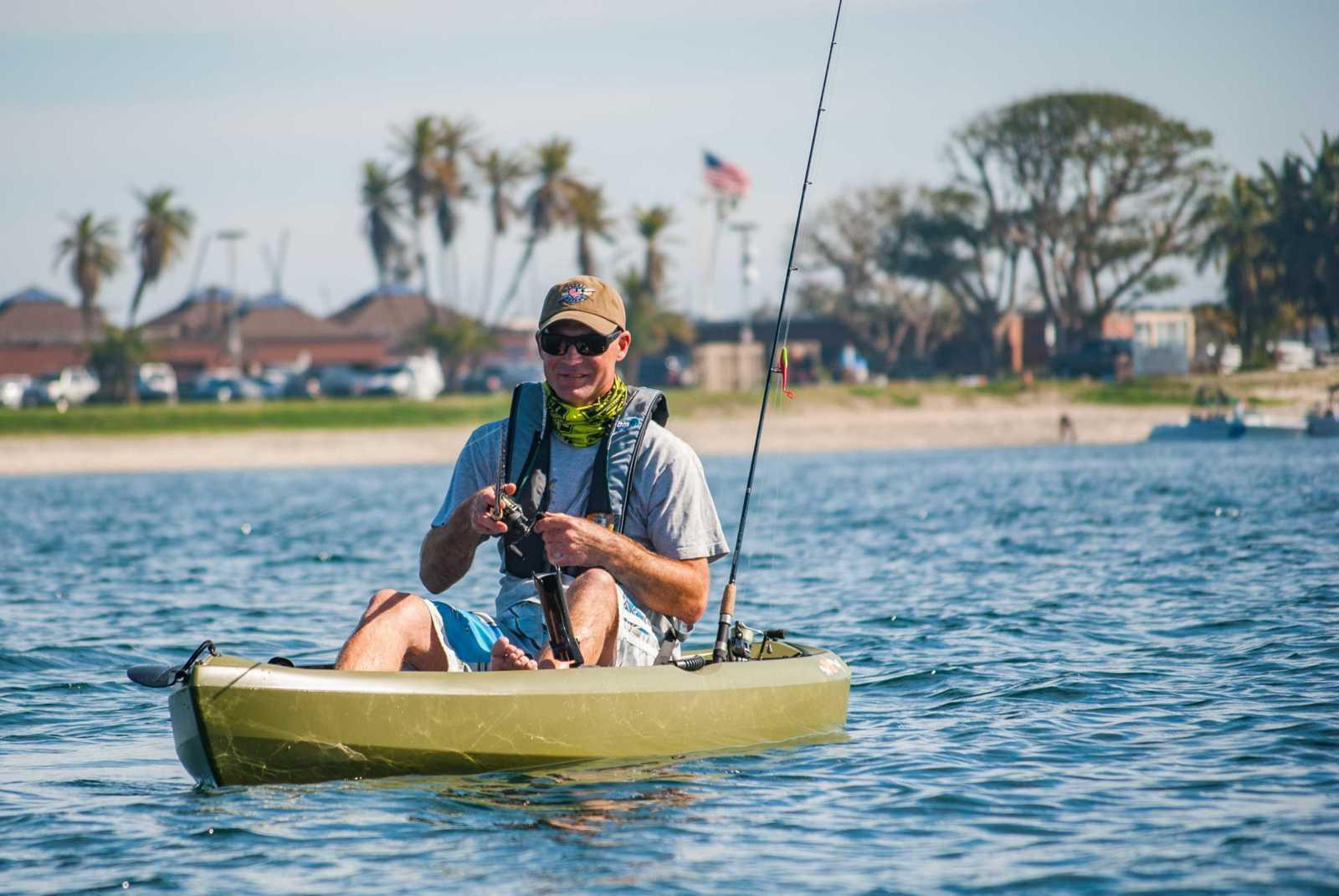 Lifetime Tamarack Fishing With Paddle Outdoor