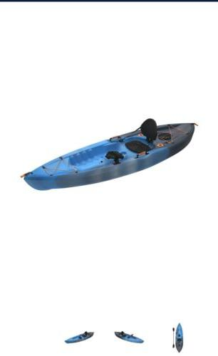 Lifetime Angler Fishing Kayak Blue New With