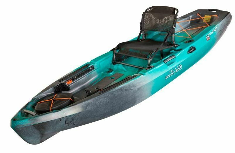 OLD TOWN TOPWATER ANGLER W/ FREE PADDLE CRATE $160
