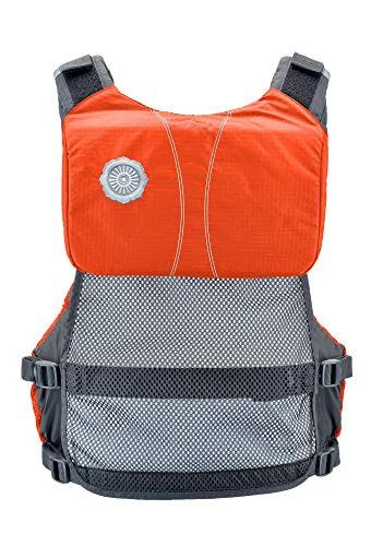 Astral V-Eight Life PFD Fishing and Touring Orange,