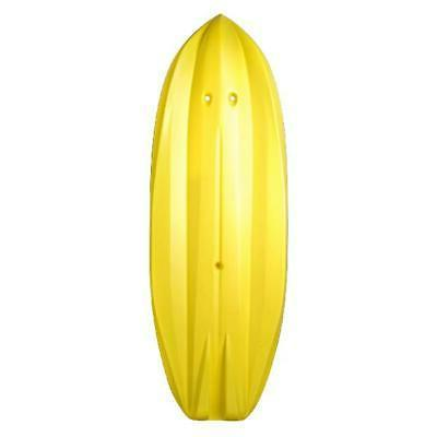 Youth Wave Kayak Included Kids 6ft Sit On Top Yellow Up 130lb