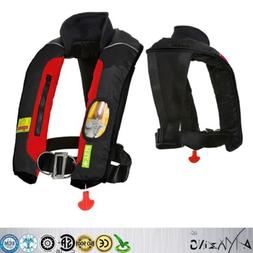 Premium Quality Manual Inflatable Life Jacket PFD Vest Kayak