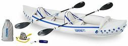 New Sea Eagle 370 Inflatable Trade Pro Kayak Package