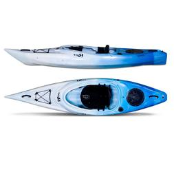 New Fishing Kayak Riot Quest 10 Flatwater Recreational Blue