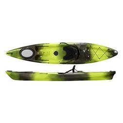 Perception Kayak Pescador Moss Camo Kayak, Green/Black, Size
