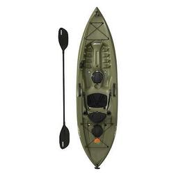 Portable Fishing Kayak Angler 100 Paddle Include Durable Pla