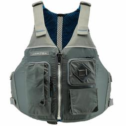 ronny fisher life jacket pfd cloud gray