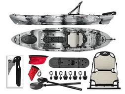 Vibe Sea Ghost 110 11' Fishing Kayak+Paddle+Seat Package
