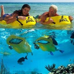 Sea Rebel Single Person Zayak snorkel scuba diving fish turt