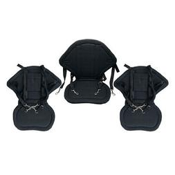 Set of 3 Deluxe Padded Comfort Kayak Seat Fishing Boat Suppo