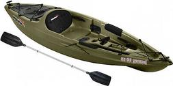 Sit-On Angler Kayak Fishing Multi Colors w/ Paddle Lake Rive