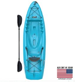 SIT ON TOP KAYAK  8.5 Feet Paddle Included Blue