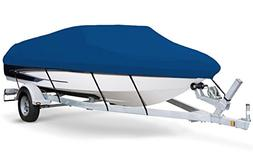 7oz Solution Dyed Polyester Blue, Styled to FIT Boat Cover f