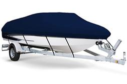 7oz Solution Dyed Polyester Navy, Styled to FIT Boat Cover f