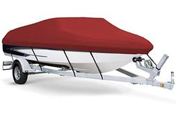 7oz Solution Dyed Polyester RED, Styled to FIT Boat Cover fo