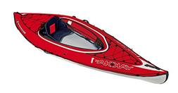BIC Sport YAKKAIR HP1 Inflatable Kayak, Red/Grey, 10-Feet 9-