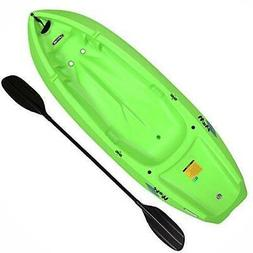 Lifetime Youth Wave Kayak with Paddle, 6 Feet, Green : Sport